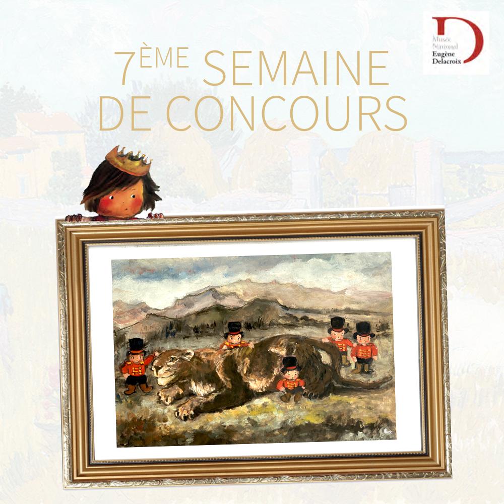 Grand concours en partenariat avec le Musée Delacroix